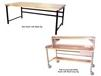 HEAVY-DUTY WORK BENCHES - FULLY ACCESSORIZED WITH PLASTIC SE TOP